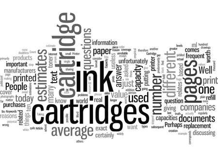 Ink Cartridge Capacity