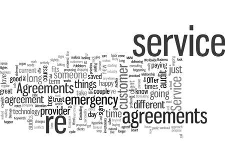 IT Service Agreements When To Offer Them