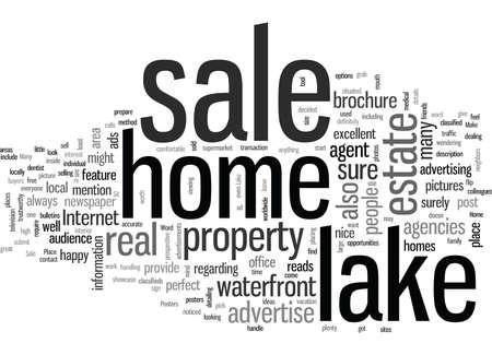 ¿Está su casa en el lago a la venta?