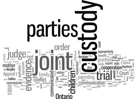 Joint Custody in Divorce Illustration