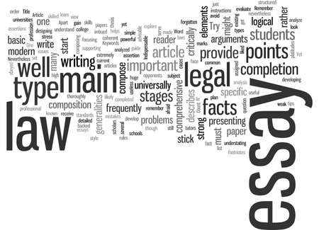Indispensable elements of a powerful law essay