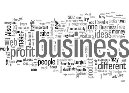 It s Not That Difficult To Increase Your Business Profits Stock Illustratie