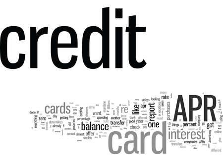 Es ist ganz einfach, eine APR-Kreditkarte zu finden