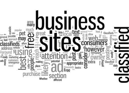 It s Classified How To Utilize Free Classified Ad Sites To Boost Business Illustration