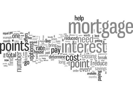 Is It A Good Idea To Pay Points On A Mortgage Vettoriali