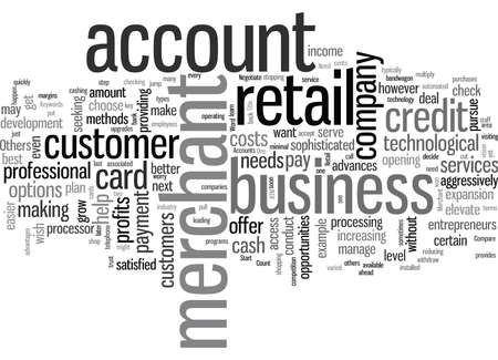Retail Merchant Accounts Do You Need One 일러스트