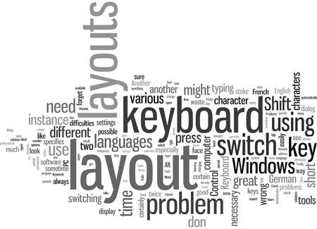 Keyboard Layout Problems How To Fix Them Illustration