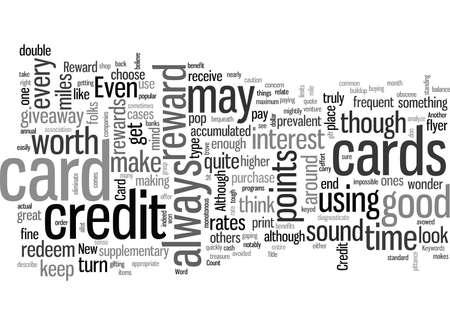 Kreditkarte belohnen