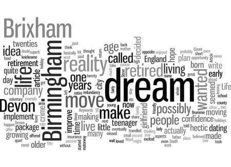 Live The Dream Today Ilustração