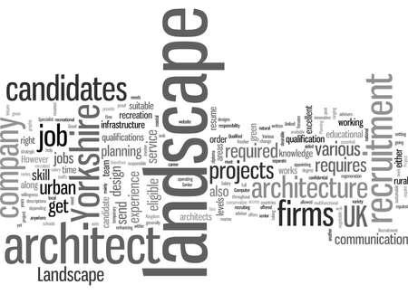 Landscape architectrecruitment yorkshire
