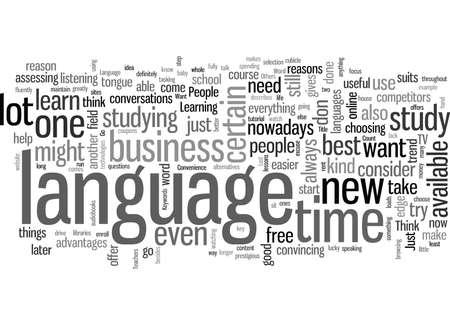 Sprache unterwegs Vektorgrafik