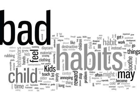 Kinderen en slechte gewoonten