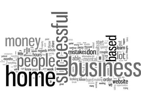 Sleutels tot een succesvol bedrijf aan huis Vector Illustratie