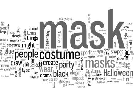 Make Your Own Costume Party Mask