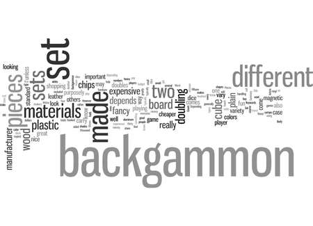 Know The Pieces In Your Backgammon Set Çizim