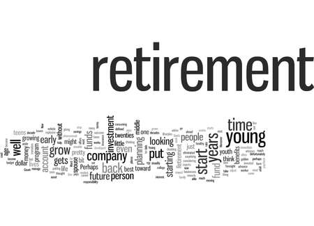 Pensioen begint jong