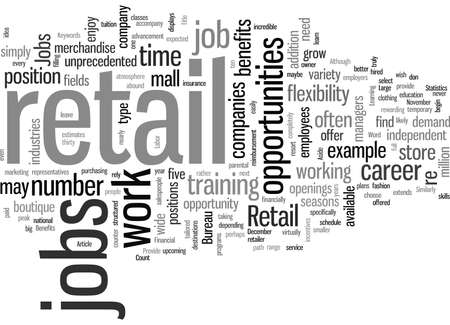 Retail Jobs Provide Unprecedented Opportunities