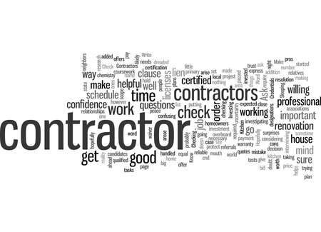 Know Your Kitchen Contractors Credentials Ilustracja