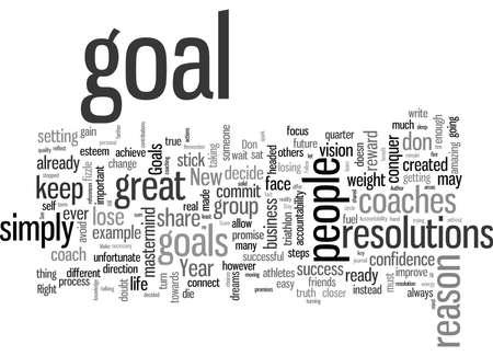 Machen Sie Ihre Ziele fest