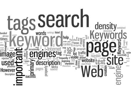 Keywords How To Use Them Properly On Your Website 일러스트