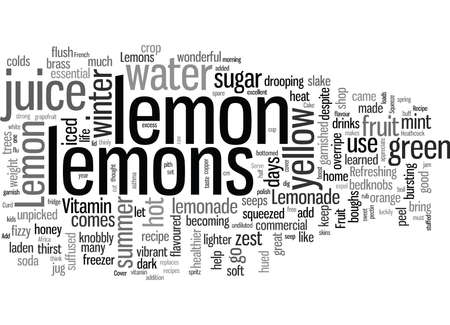 Lemons Add Zest to Life Illustration