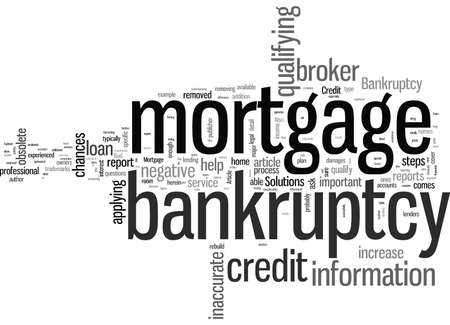 Mortgage After Bankruptcy These Steps Could Help
