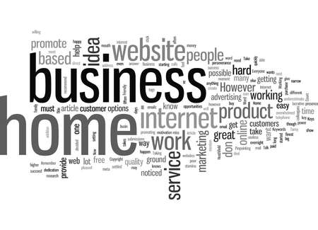 Keys to a Successful Home Business Illustration