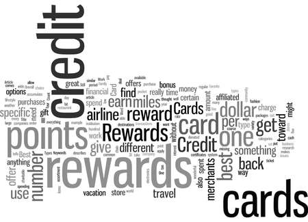 Rewards Credit Card How to Find the Best One for You