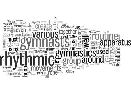 Gymnastique Rythmique pour Femmes Vecteurs