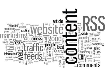 RSS Feeds feed your website with fresh content