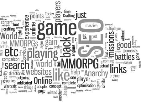 SEO Is A MMORPG