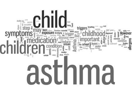 Stappen om astma bij kinderen onder controle te krijgen