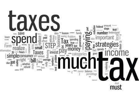 Simple Steps To Reduce Your Taxes In