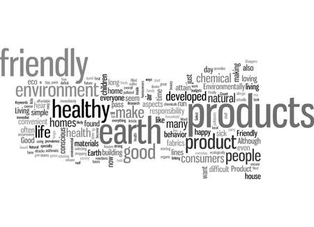 Select An Earth Friendly Product Good For Your Health Good For The Environment Illusztráció