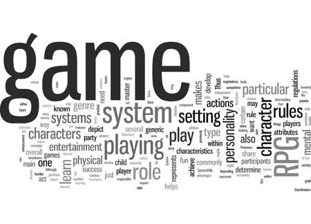 rpg game system