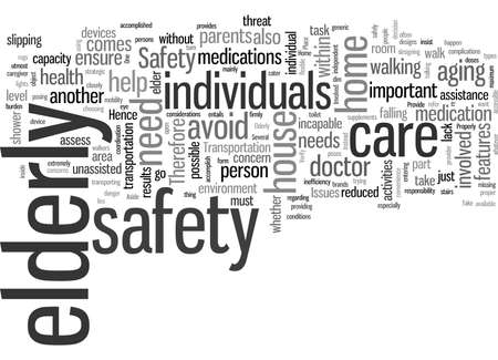 Safety Issues Involved With Elderly Care