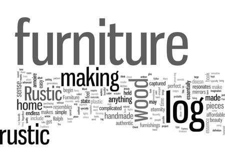 Rustic Log Furniture The Magic of Wood