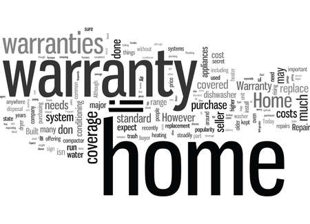 Standard Coverage for a Home Warranty What to Expect