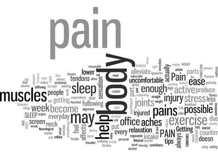 Dus heb je pijn?