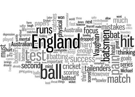 Lecciones de éxito del cricket Ilustración de vector