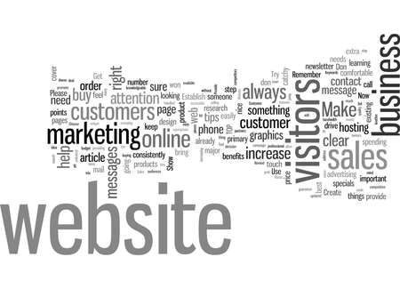 Strategic Tips On How To Increase Website Sales 일러스트