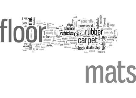 Rubber Floor Mats Or Carpet Floor Mats