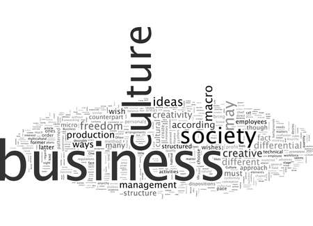 A Renewed View of the Modern Business Culture Illustration