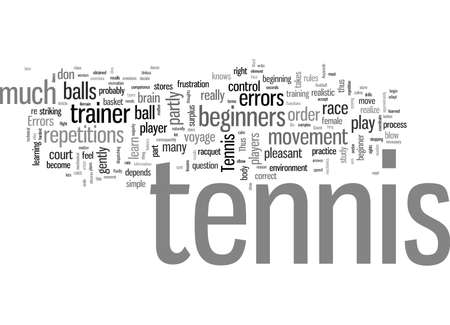 Tennis For Newbies