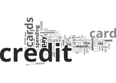 Word Cloud Summary of Guide To The Right Credit Card Article