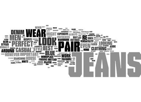 Word Cloud Summary of How To Buy Jeans Article