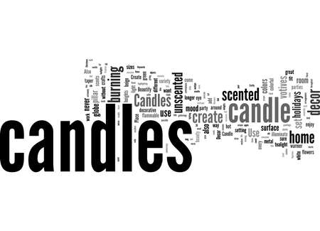 Word Cloud Summary of Beautify and Add Fragrance to Your Home Decor with Candles Article