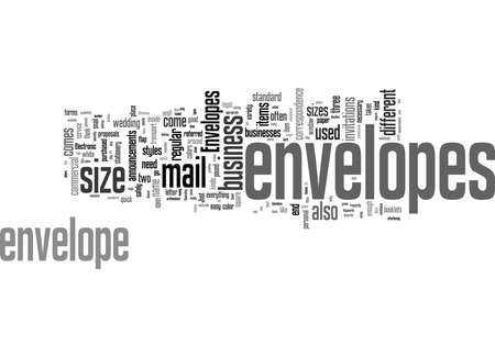 Word Cloud Summary of Do We Need Envelopes Article