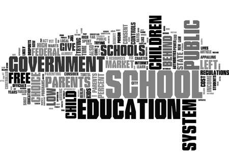Word Cloud Summary of Parents The No Child Left Behind Law Won t Do Much For Your Child Article