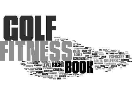Word Cloud Summary of How A Golf Fitness Book Can Transform Your Game Article